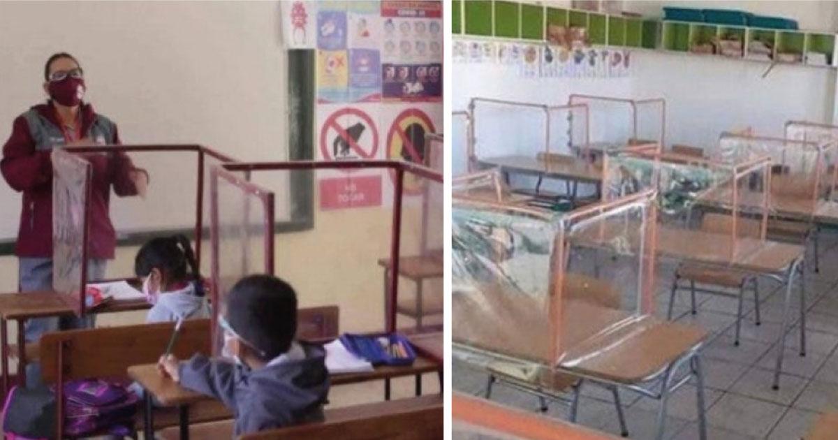 Humilde maestra gasta todo su sueldo con tal de proteger a sus alumnos
