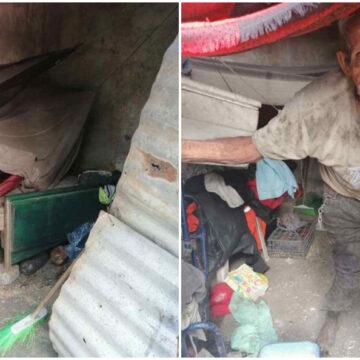 Abuelo de 94 años se ve obligado a trabajar más de 12 horas al día para conseguir un poco de comida