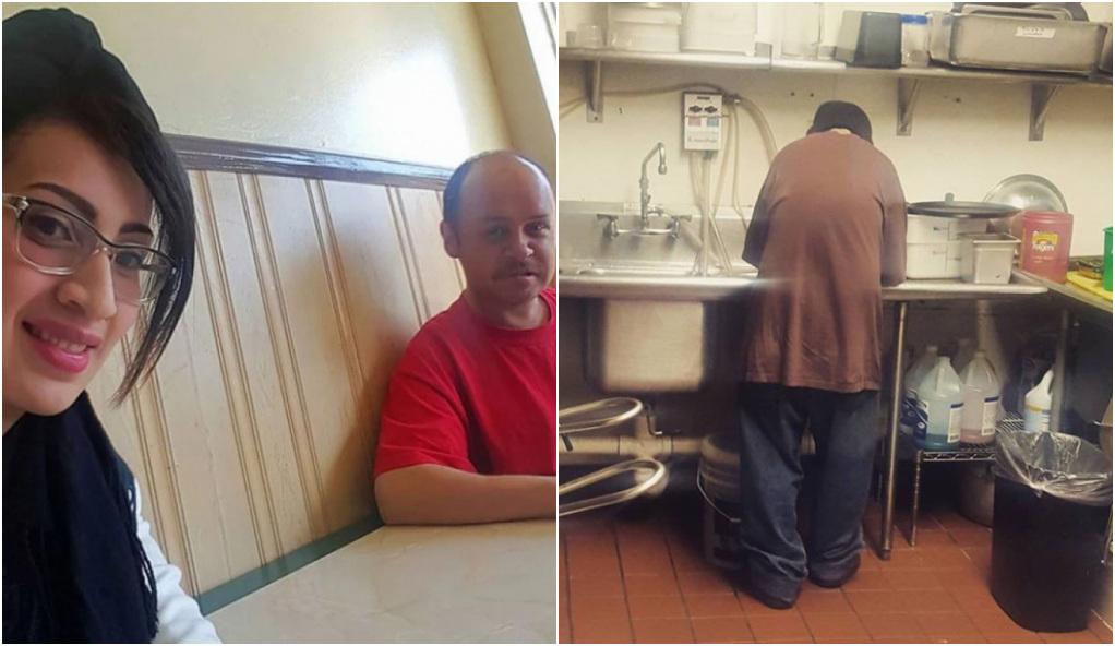 Un indigente pide limosna para poder comer y a cambio recibe un puesto de trabajo