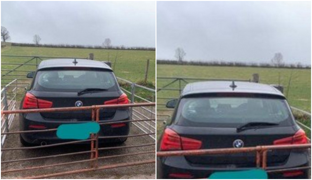 Por imprudente le colocan una cerca a su vehículo y no le permiten irse