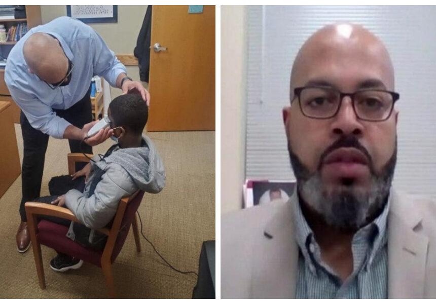 Este director da una increíble lección de vida y liderazgo por un simple corte de cabello