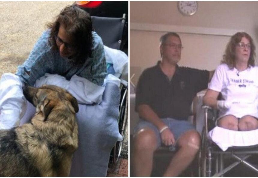 Por la saliva de su perro entra en estado de coma y le amputan ambas piernas y manos