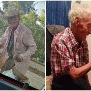 Abuelo de 100 años es rescatado de las calles y tiene un merecido final feliz.