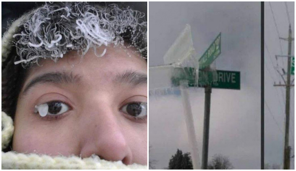 Fotografías que de solo verlas nos hacen sentir mucho frío