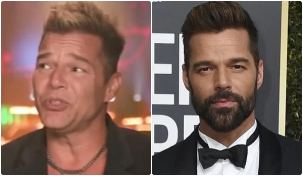 Ricky Martin revela lo que se hizo después de sorprender a todos con su nuevo rostro