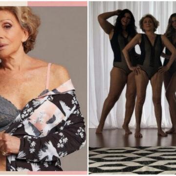 Jubilada crea su propia línea de lencería sexy para mujeres mayores de 50 años