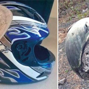 15 imágenes que demuestran porque debes usar casco