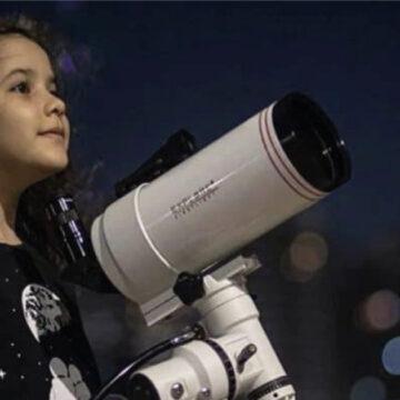 Niña latinoamericana se convierte en la astrónoma más joven del mundo